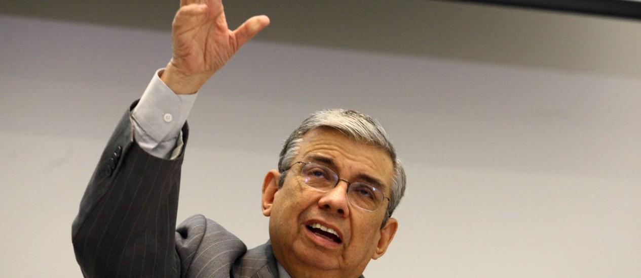 Ministro da Previdência Social, Garibaldi Alves Foto: Givaldo Barbosa / Givaldo Barbosa/25-8-201