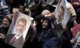 Egípcios pró-Mohamed Mursi protestam no Cairo