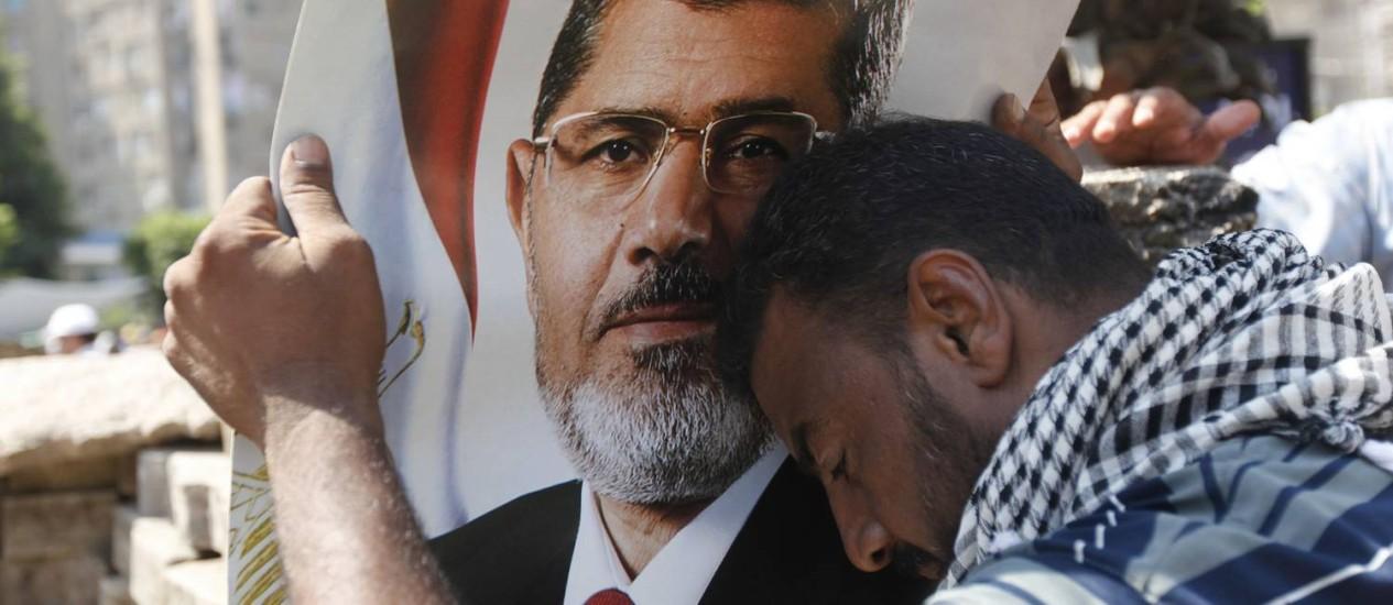 O Ministério Público ordenou a libertação de duas das principais figuras da Irmandade Muçulmana, de acordo com agência de notícias estatal Mena Foto: MOHAMED ABD EL GHANY / REUTERS