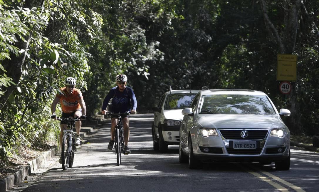 Ciclistas estão ansiosos com o anúncio - Foto: Hudson Pontes - Agência o Globo.