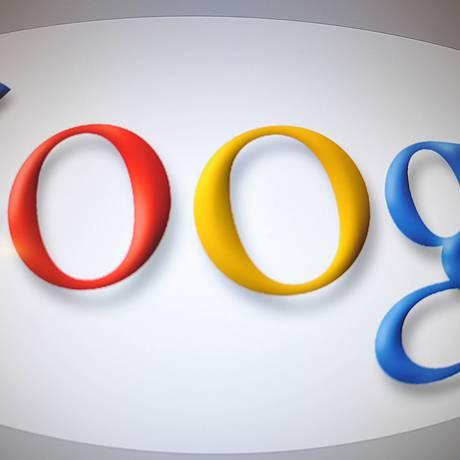 Imagem da logo da Google em Washington Foto: KAREN BLEIER / AFP
