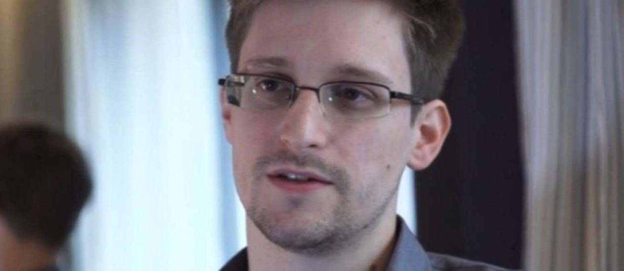 "Edward Snowden, em segunda parte de entrevista para o ""Guardian"" Foto: Internet"