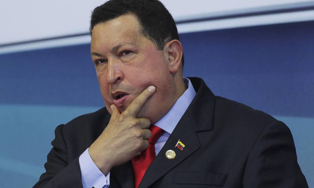 Venezuela, na era de Chávez, também teria sido espionada Foto: UESLEI MARCELINO / REUTERS