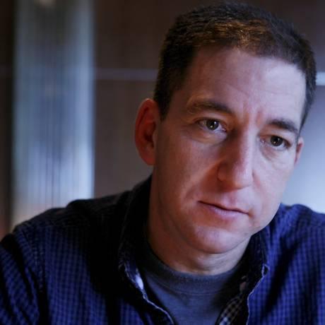 Glenn Greenwald, jornalista que publicou as denúncias de espionagem por parte dos EUA Foto: Gustavo Stephan / Agência O Globo