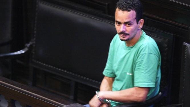 O traficante Eduíno Eustáquio de Araújo Filho, o Dudu da Rocinha - Foto: Marcos Tristão / 6-12-2005
