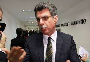 Senador Romero Jucá (PMDB-RR) Foto: Ailton de Freitas / O Globo