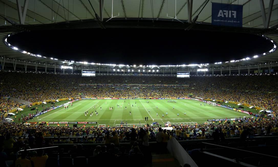 Final da Copa das Confederaçoes no Maracanã Foto: Cezar Loureiro / Agência O Globo