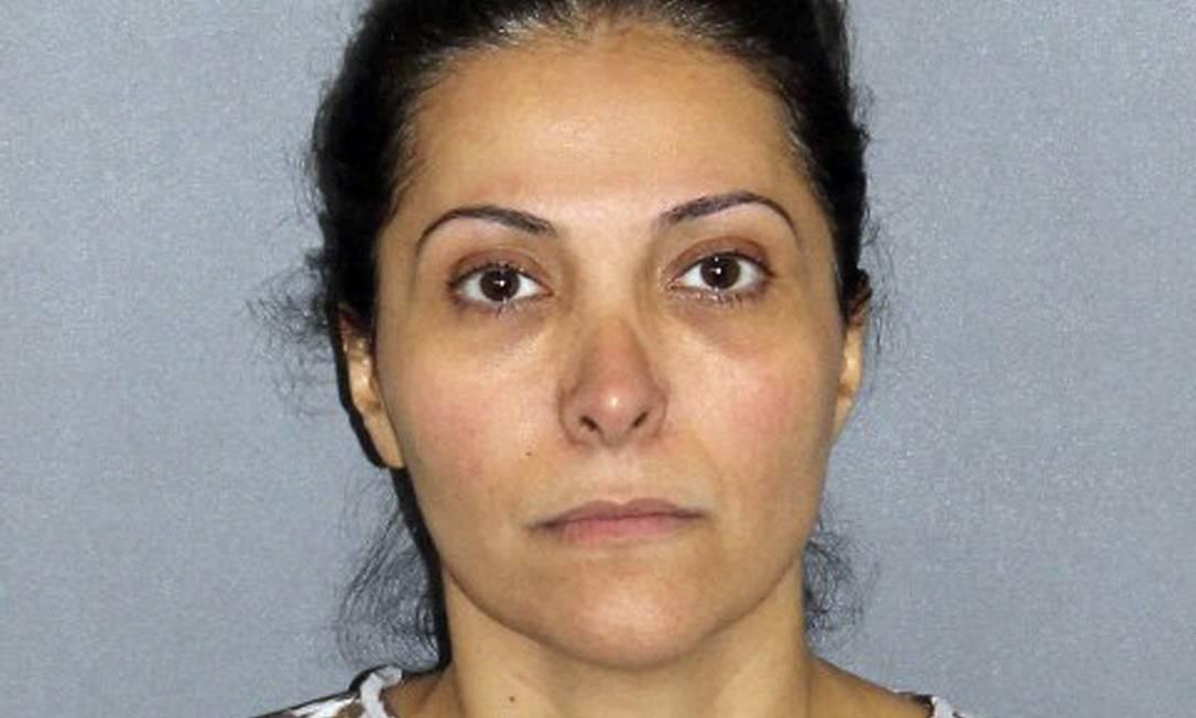 Foto divulgada pela polícia mostra Meshael Alayban, detida em 9 de julho em Irvine, na Califórnia Foto: AP