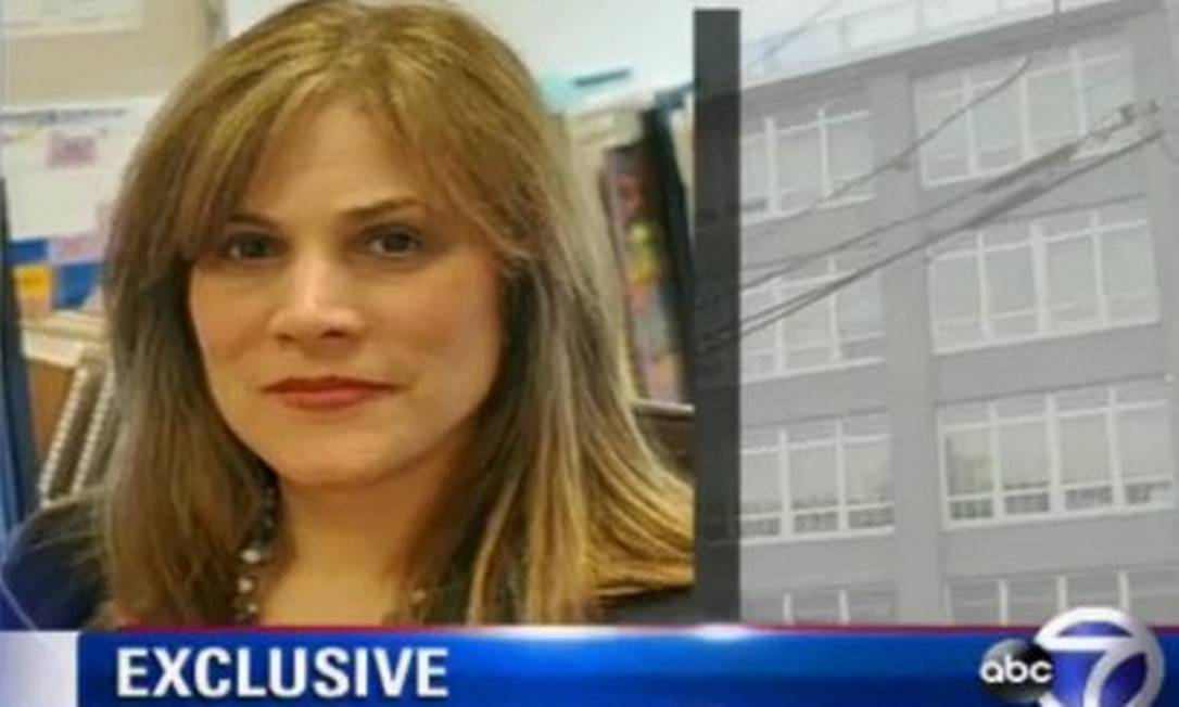 Minerva Zanca, diretora de escola no Queens, em Nova York Foto: Reprodução da web