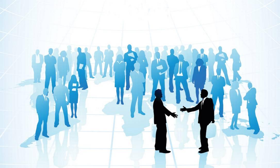 Segundo pesquisa, 80% dos executivos de médias e grandes empresas reconhecem o valor do networking, mas não usam a ferramenta de modo eficiente Foto: Divulgação