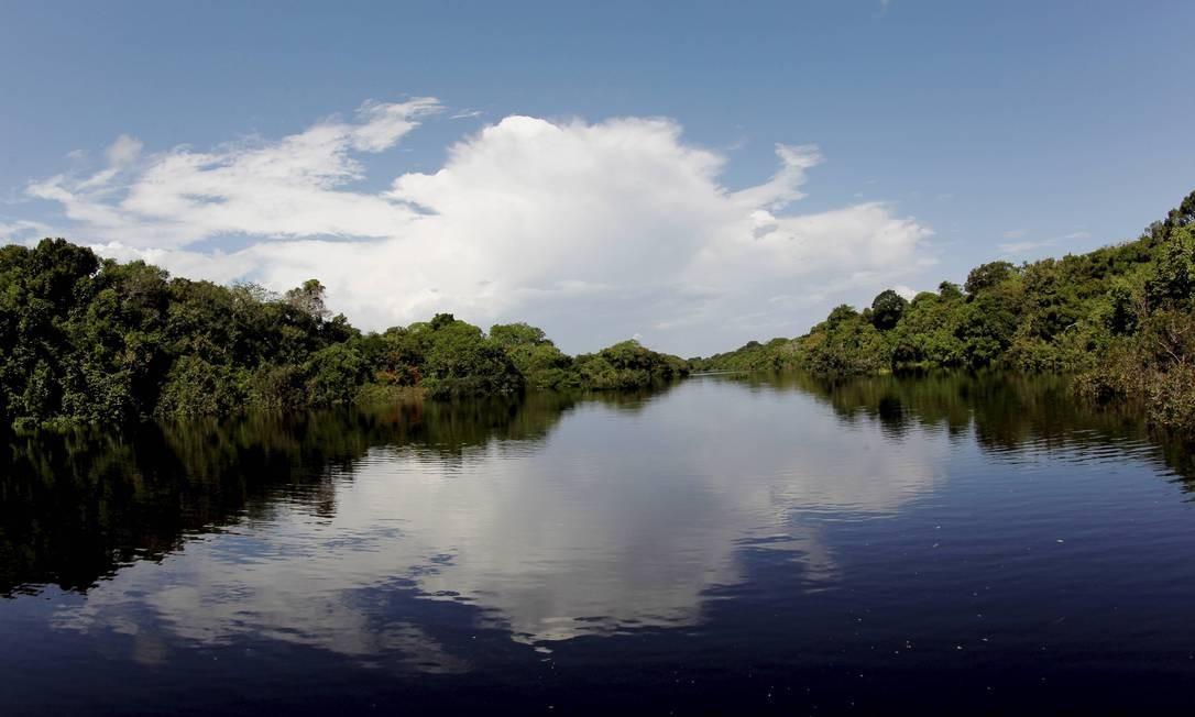 Formado por 400 ilhas no rio Negro, Anavilhanas, na Amazônia, é o segundo maior arquipélago fluvial do mundo e foi aberto a visitantes em 2008 Foto: Marcelo Piu