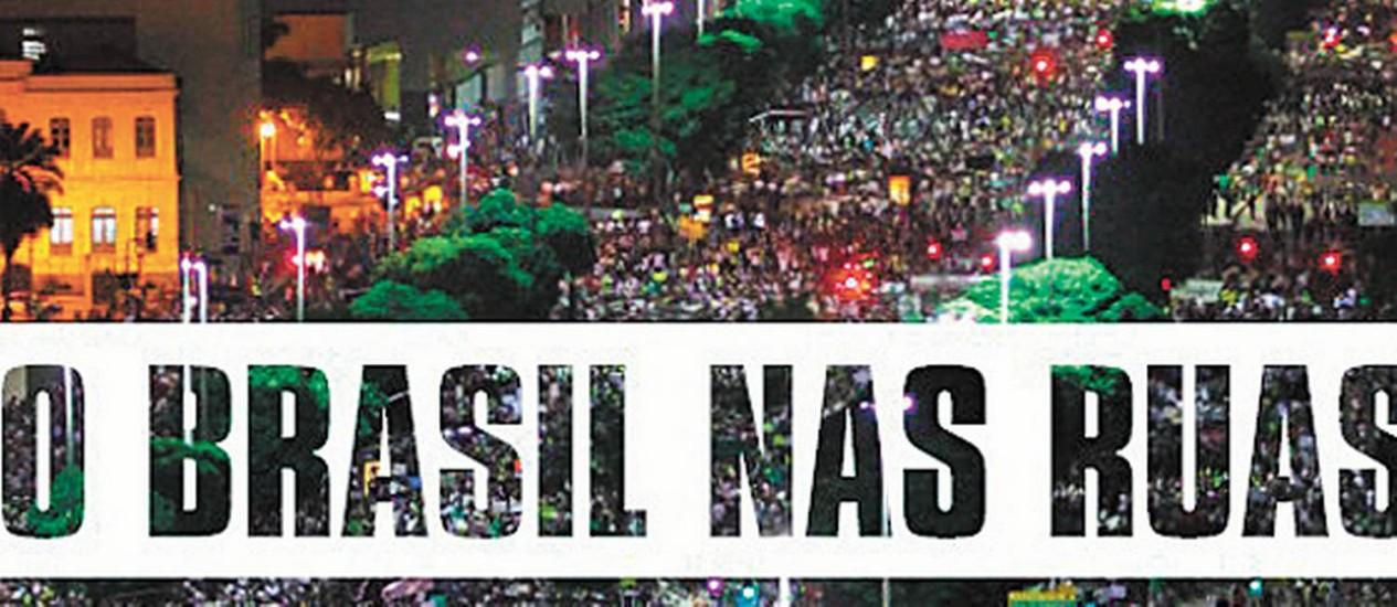 Reprodução de página do e-book Foto: Agência O Globo