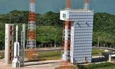 Três décadas de atraso VLS-1, no Centro de Lançamento de Alcântara. Missão começou em 1979, porém ainda não houve lançamento bem sucedido Divulgação Instituto de Aeronáutica e Espaço (IAE)/DCTA Foto: Divulgação/IAE/DCTA