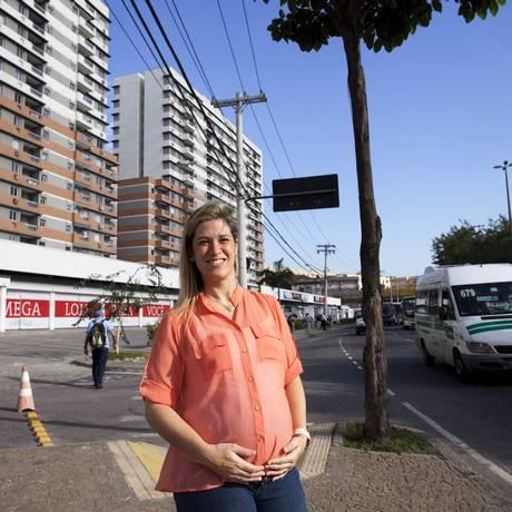 Elaine Pieroni é dona de apartamento no Arena Park Foto: Ana Branco / O Globo