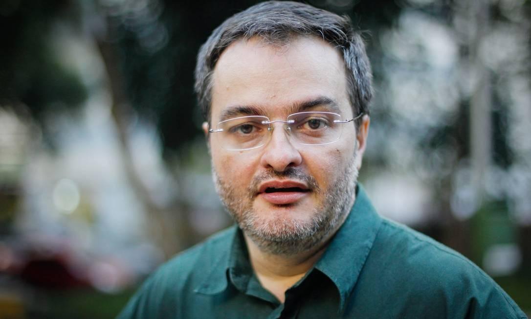 Daniel Sottomaior, presidente da Atea, que organiza o evento: resposta à chegada do Papa Foto: Marcos Alves