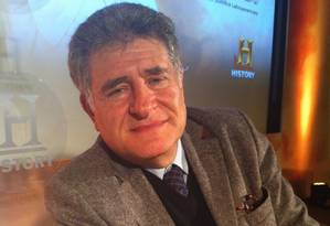 O rabino Abraham Skorka, um dos melhores amigos do Papa Francisco Foto: Janaína Figueiredo / Agência O Globo