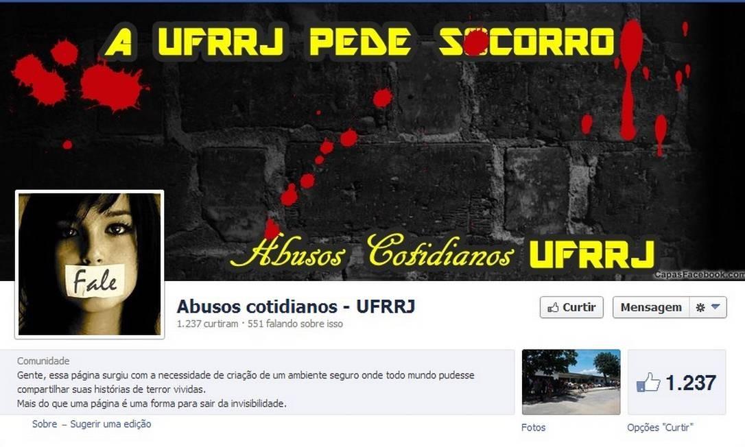 """Página no Facebook para denunciar crimes no campus já conta com mais de 1.200 """"curtidas"""""""