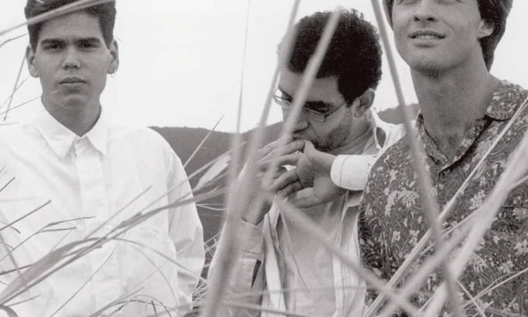 Dado Villa-Lobos, Renato Russo e Marcelo Bonfá, a formação clássica da Legião Urbana Foto: Divulgação / Flávio Colker