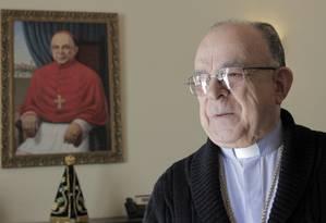 Para o cardeal, visita do Papa pode despertar a fé naqueles que estão mais distantes Foto: Eliaria Andrade / Agência O Globo