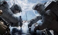 Sandra Bullock e George Clooney em 'Gravity' Foto: AP