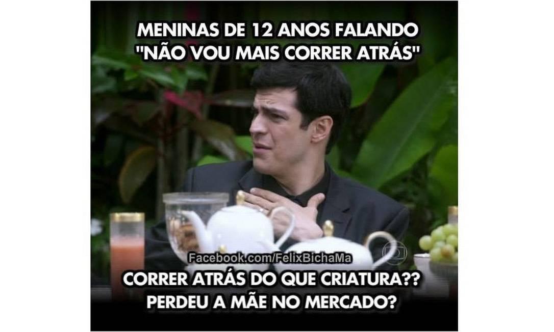 Criador de página 'Félix Bicha Má' no Facebook seleciona as pérolas do personagem. Esta ficou em primeiro lugar na lista
