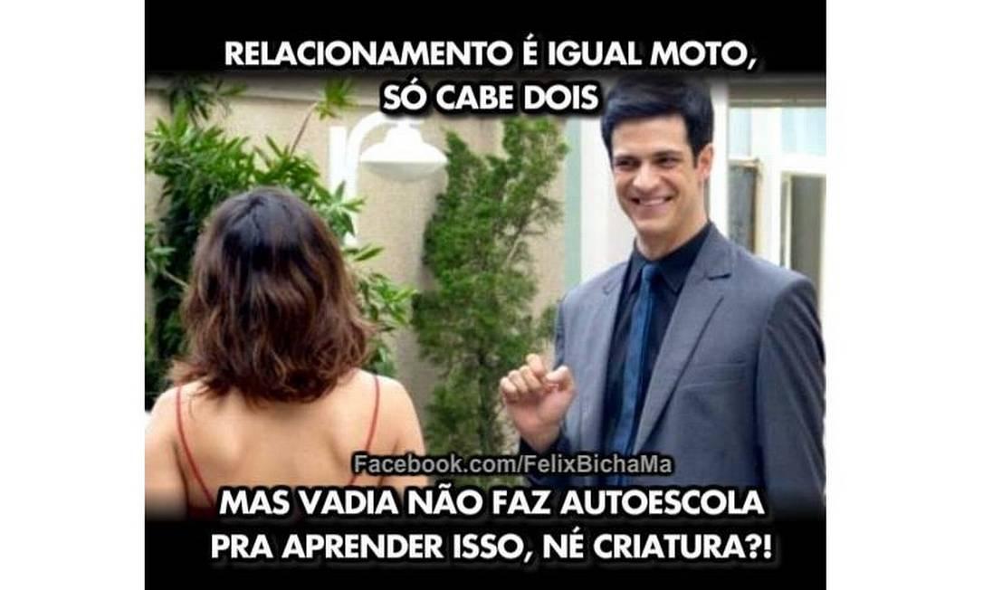 Décimo lugar. Criador da página no Facebook sonha em ver uma frase de sua autoria na boca do personagem Félix, interpretado pelo ator Mateus Solano na TV
