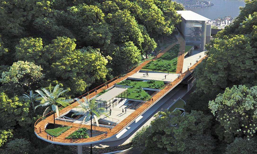 O futuro complexo das Paineiras, onde ficava antigo hotel, já foi aprovado pelo Iphan - Foto: Divulgação