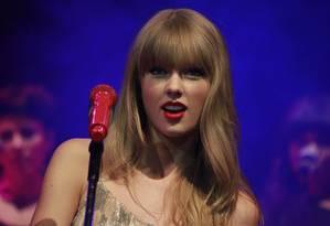 Taylor Swift em show fechado no Rio, em 2012 Foto: Felipe Panfili / Divulgação