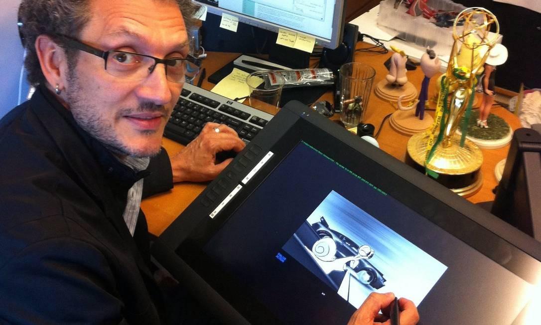 O animador carioca Ennio Torresan Foto: Divulgação