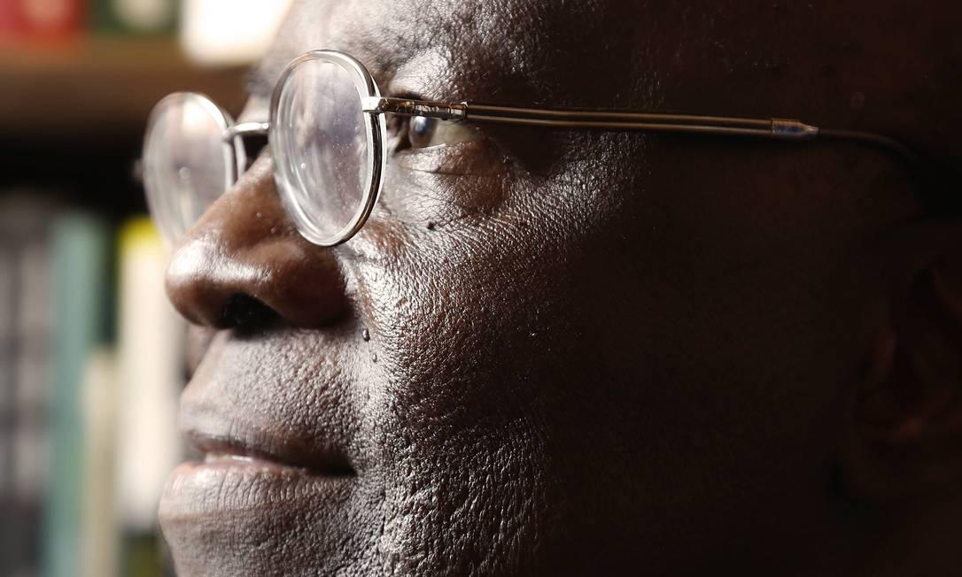 Joaquim Barbosa, presidente do Supremo Tribunal Federal Foto: Camilla Maia / O Globo