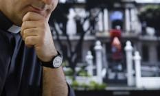 Antonio Spadaro: papel importante na estratégia de comunicação digital do Santo Padre Foto: Daniela Dacorso / O Globo