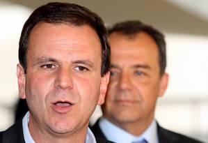Paes tem muito governo pela frente e planeja voos mais altos Foto: O Globo / Gustavo Miranda