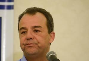 Governador do Rio de Janeiro, Sérgio Cabral Foto: Frame / Adriano Ishibashi