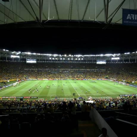 O novo Maracanã Foto: Foto: Cezar Loureiro/Arquivo / O Globo