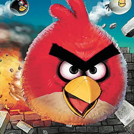 'Angry birds' vai ganhar versão Rock in Rio Foto: Divulgação