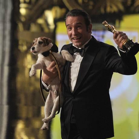 """Galã francês ganhou o Oscar de mehor ator em 2012 por """"O artista"""" Foto: Foto AFP"""