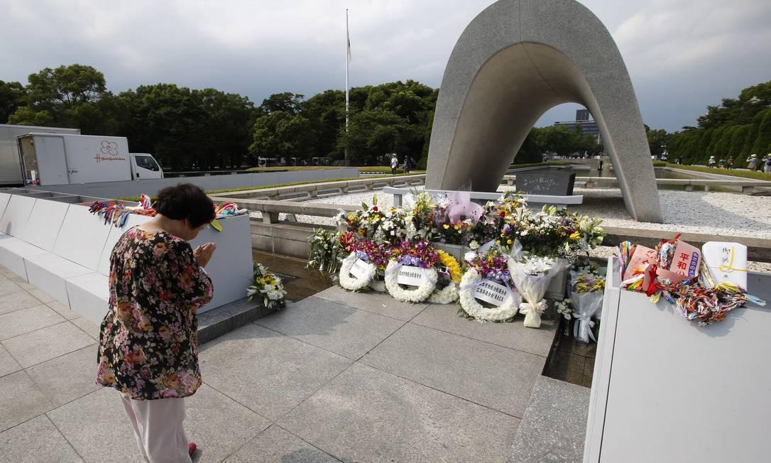 Hiroshima foi a primeira cidade japonesa atingida por uma bomba atômica Shizuo Kambayashi / AP