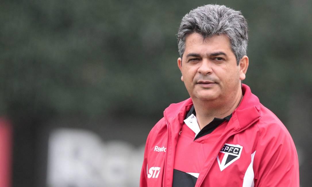Ney Franco foi campeão da Copa Sul-Americana com o São Paulo mas não resistiu ao início ruim no Brasileiro Foto: Eliária Andrade / Agência O Globo