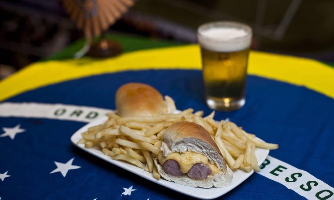O Bar da Eva serve o sanduíche Beckenbauer por R$ 12 Foto: Guillermo Giansanti / O Globo