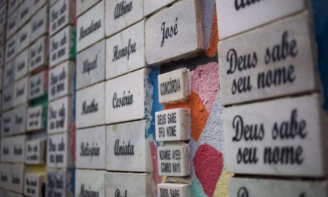 ZI 07/08/2013 RIO DE JANEIRO - Racismo em escola pública - O professor Luiz Henrique Rosa descobriu mais de 600 apelidos racistas na escola municipal Herbert Moses, no Jardim América, e resolveu criar um projeto que homenageia escravos para aproximar os alunos. Luiz criou também um jardim em uma parte abandonada da escola; lá, as crianças aprendem biologia, há explicações sobre a história do Brasil a partir de plantas nativas e ainda associações à literatura, com plantas presentes em livros, como Meu pé de laranja lima. Foto: Paula Giolito / agencia o globo Paula Giolito / Agência O Globo