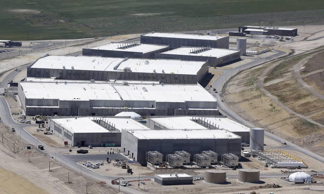 Centro de armazenamento de dados da NSA em Bluffdale, no estado de Utah Foto: Rick Bowmer / Agência O Globo