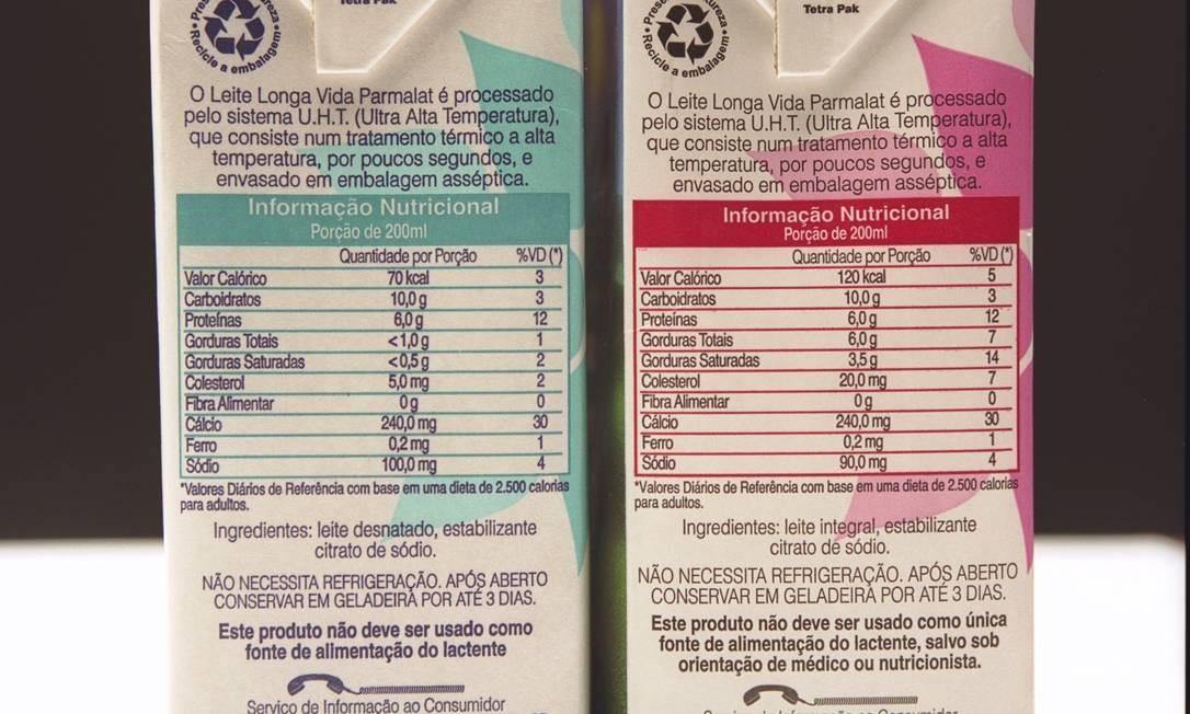 Divulgação da tabela nutricional em embalagens de alimentos e bebidas é obrigatória Foto: Ricardo Gomes / Arquivo Agência O Globo