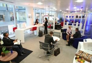 Na Regus, que está presente em mais de cem países ao redor do mundo, os espaços de co-working são chamados de