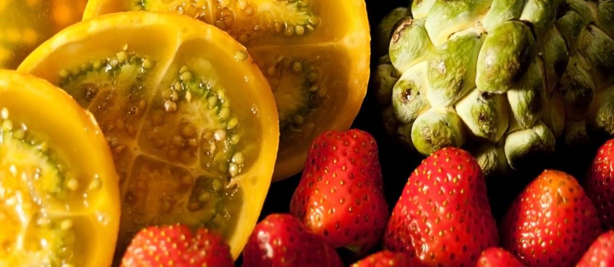 Frutas são ricas em vitaminas e antioxidantes Foto: Stock Photo