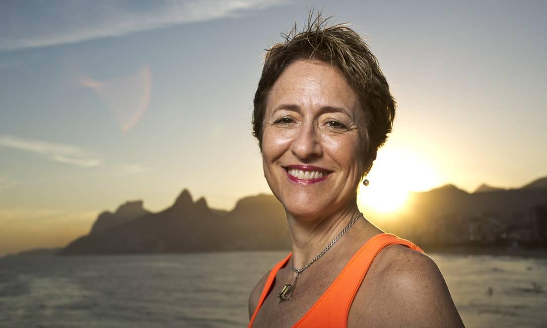 Julia Michaels , sem receio de expor as experiências amorosas pôs-divórcio Foto: Paula giolito / Agência O Globo