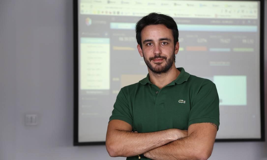 Daniel Tártaro, da Ogilvy, usa modelos matemáticos para entender o consumidor Foto: Fabio Rossi / Agência O Globo