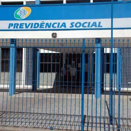 Fachada de agência do INSS Foto: Divulgação