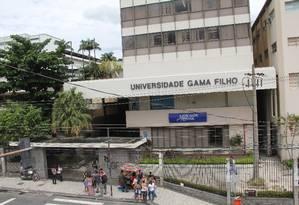 Imóveis do campus da Piedade da Universidade Gama Filho são alugados Foto: Marco Arcoverde / Agência O Globo