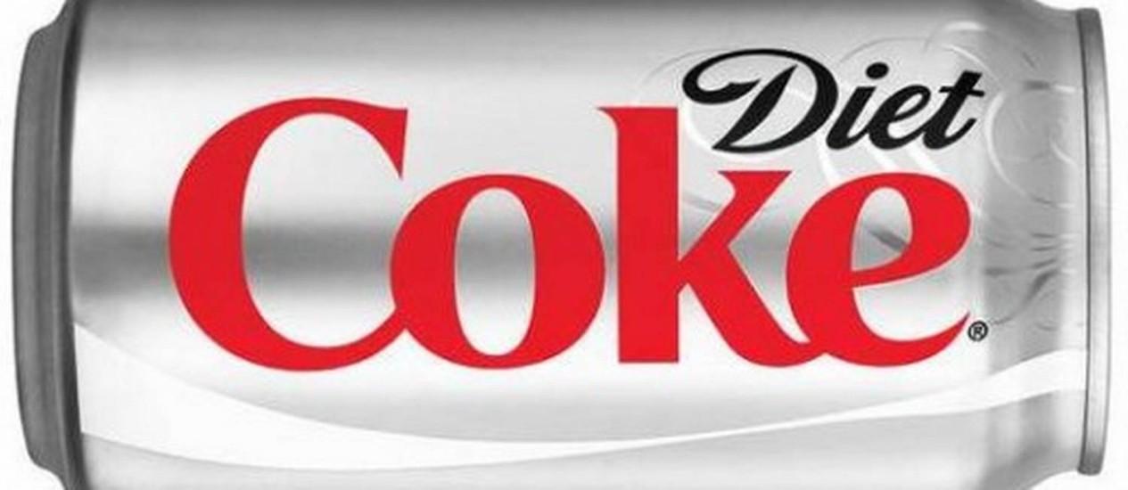 Diet Coke: para combater a queda nas vendas, gigante sai em defesa do aspartame Foto: Reprodução de internet
