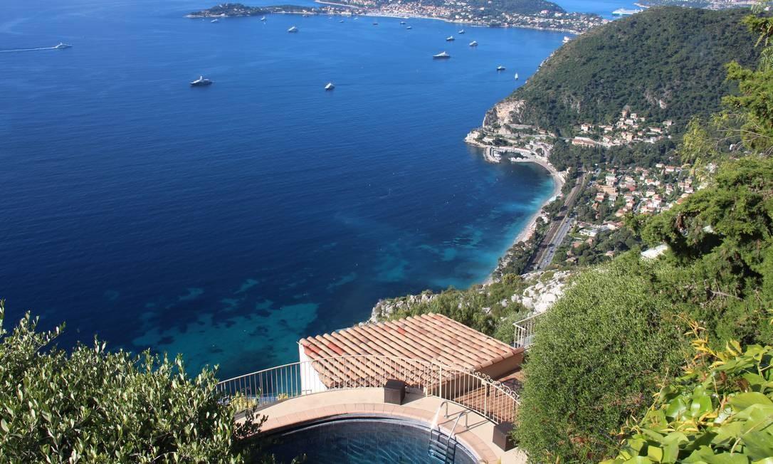 Do hotel, essa incrível vista para o Mar Mediterrâneo. Bruno Agostini / O Globo